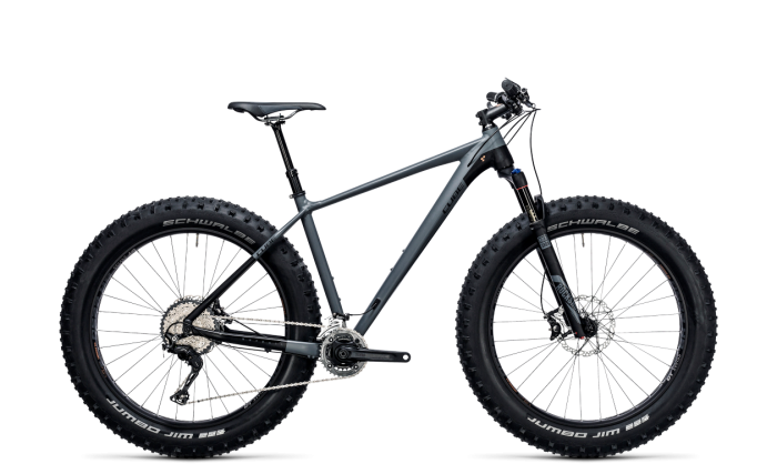 Cube Nutrail grey´n´black 2018