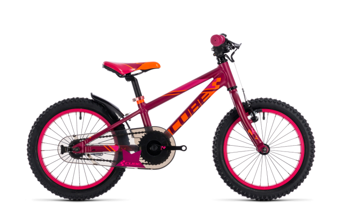 "Cube Kid 160 girl berry´n´pink 16"" 2018"