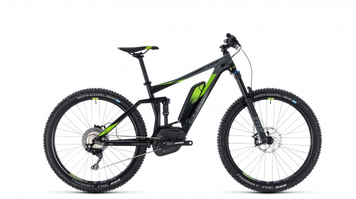 Stereo Hybrid 140 Race 500 27.5 black´n´green 2018