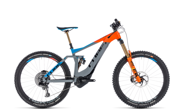 Cube Stereo Hybrid 160 Action Team 500 27.5 2018