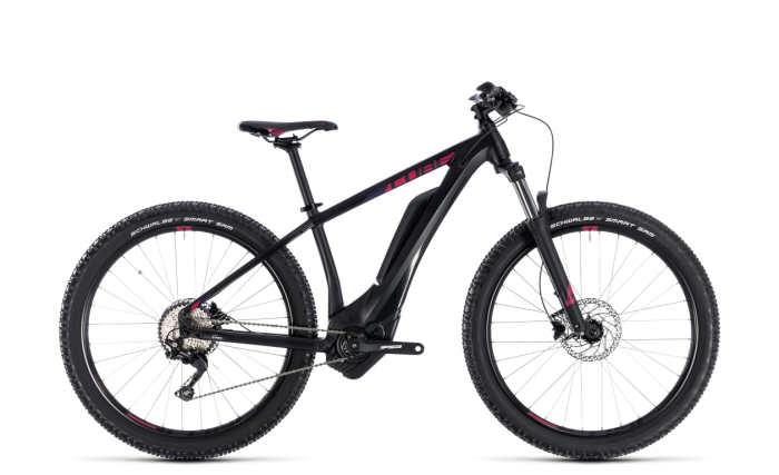 Cube Access Hybrid Pro 400 black´n´berry 2018