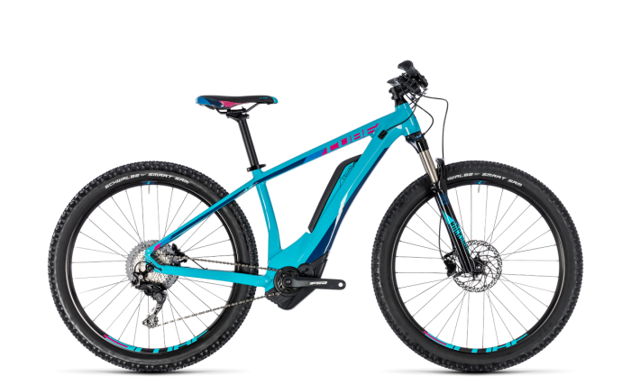 Cube Access Hybrid Race 500 turquoise´n´rasberry 2018