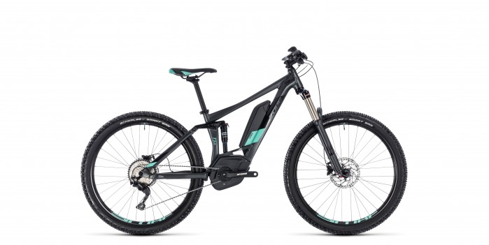 Cube Sting Hybrid 120 Race  500 27.5 iridium´n´mint 2018