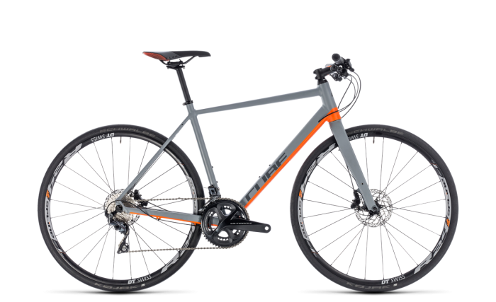 Cube Sl Road grey´n´orange 2018