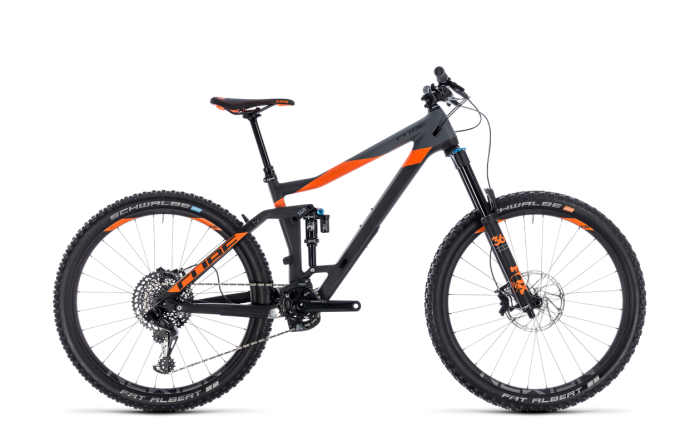 Cube Stereo 160 C:TM 27.5 carbon´n´orange 2018