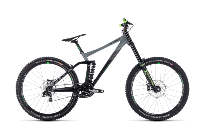 Cube Two15 Race 27.5 	black´n´green 2018