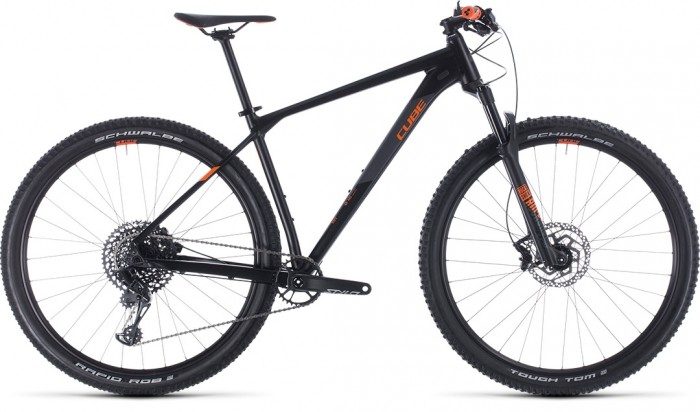 CUBE REACTION RACE BLACK´N´ORANGE 2020