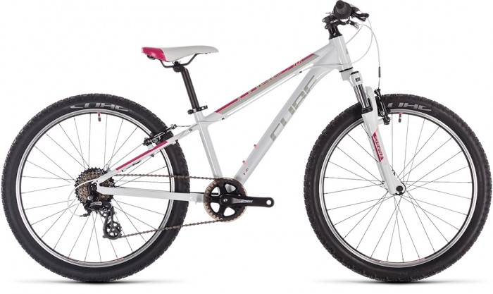 """CUBE ACCESS 240 WHITE´N´RED´N´CORAL 24"""" 2020"""