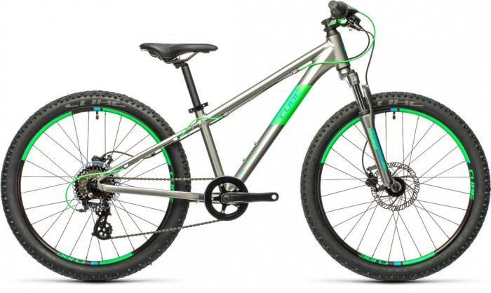 "CUBE ACID 240 DISC GREY´N´NEONGREEN 24"" 2021"