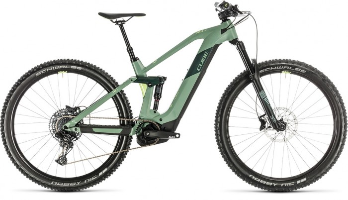 CUBE STEREO HYBRID 140 HPC RACE 500 29 GREEN´N´SHARPGREEN 2020