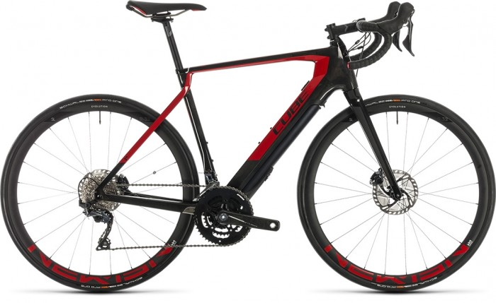 CUBE AGREE HYBRID C:62 SL CARBON'N'RED 2020