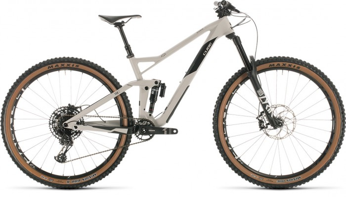 CUBE STEREO 150 C:62 RACE 29 GREY´N´CARBON 2020