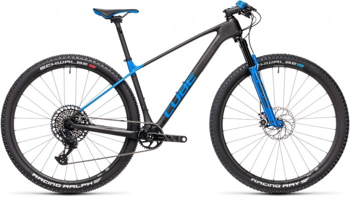 CUBE ELITE C:68X RACE CARBON´N´BLUE 2021
