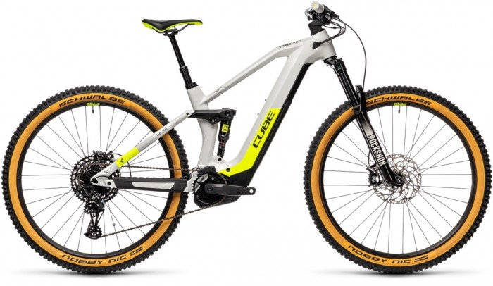 CUBE STEREO HYBRID 140 HPC RACE 625 grey´n´yellow 2021