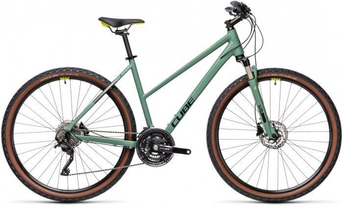 CUBE NATURE EXC GREEN´N´BLUEGREEN 2021 TRAPEZE