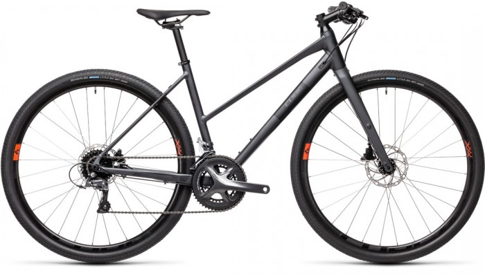 CUBE SL ROAD IRIDIUM´N´BLACK 2021 TRAPEZE