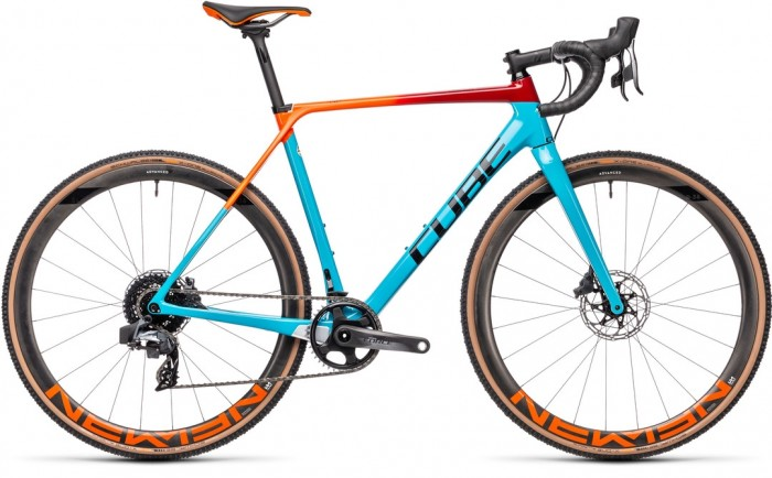 CUBE CROSS RACE C:62 SLT BLUE´N´REDFADING 2021
