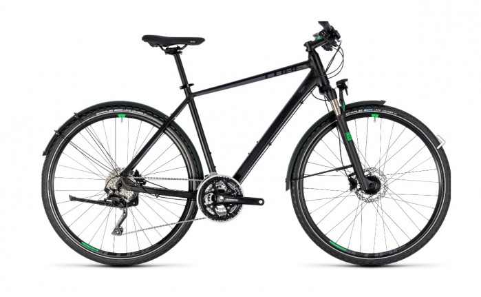 Cube Cross Allroad black´n´green 2018